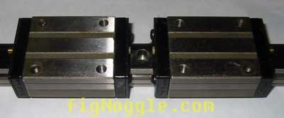 THK SHS25+640L RAIL ONLY LINEAR RAIL