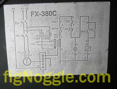 figNoggle_daytonWireDiaSmall grainger dayton 2ac40a round column mill drill! harbor freight CNC Machine Diagram at bayanpartner.co